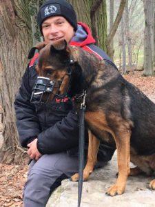Jens Flemming mit Problemhund
