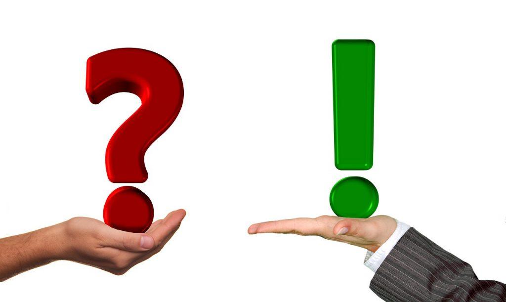 Frage und Aussage